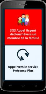 Simplesmartphone Smartphone - SOS Appel d'urgence