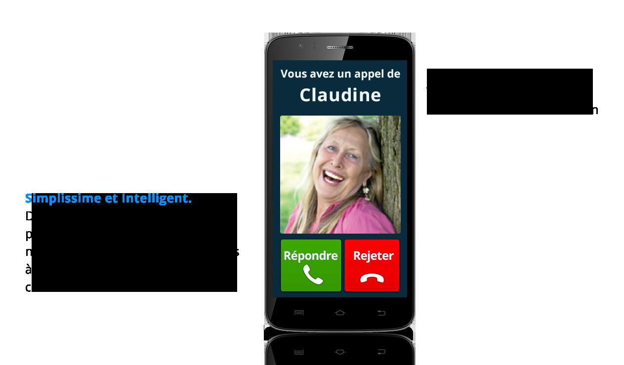 smartphone intuiti simple d'utilisation et intelligent